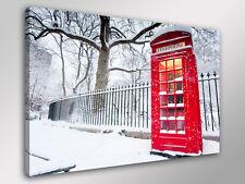 Quadro Moderno ENGLAND PHONE  cm 50x70 arredamento arredo stampa su tela Londra