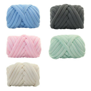 1-Ball-Chunky-Wool-Yarn-DIY-Super-Soft-Bulky-Arm-Knitting-Roving-Crocheting-New
