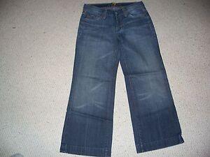 7 For All Mankind Dojo Capri Jeans 28 | eBay