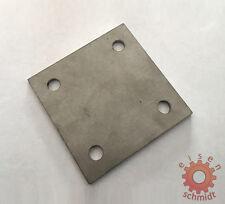 4 Ankerplatten Edelstahlplatte 120 x 120 x 6 mm V2A Edelstahl Platte Blech 0094