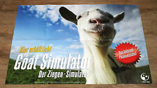 Goat simulator promo poster 84x59cm stand Double Face/Double sided