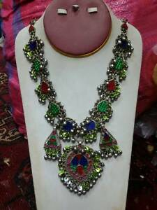 afghan-tribal-kuchi-Traditional-Jewelry-necklace-from-Pakistan