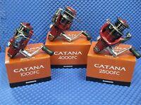 Shimano Catana Front Drag Spinning Reel Choose Model