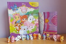 Nuevo Whisker Haven Palace Pets Busy Book + 12 caracteres My figurillas & Playmat