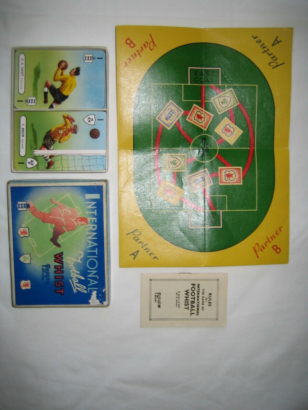 International Football Whist Pepys Series 1947 (Near Mint Condition)