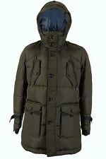 Hugo Boss Olive Fitted Down Filled Warm Jacket Coat OJOVI-W 42 R 52 L