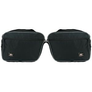Pannier-Liner-Inner-Bags-To-Fit-BMW-R1200RT-LC-New-Panniers-Perfect-Fit-Pair