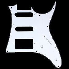 Custom Guitar Pick Guard For Ibanez RG 40 RG40 ,HSS ,3ply White