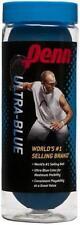 Penn Ultra-Blue Racquet Balls 3 balls New, Racquetballs, shipping label on can