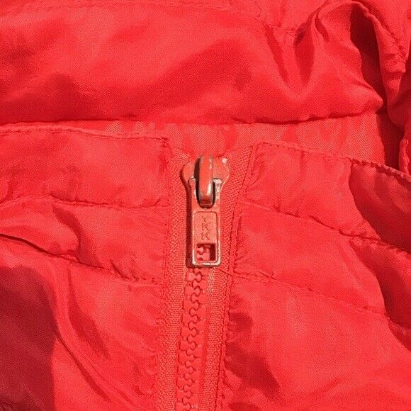 Vintage Bogari Silk Red Bomber Jacket With Beads - image 6