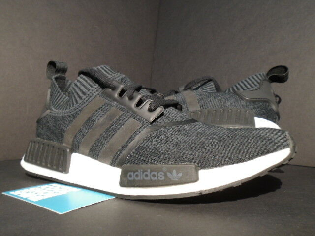 ADIDAS NMD R1 PK PRIMEKNIT WINTER WOOL CORE BLACK WHITE ULTRA BOOST BB0679 11.5