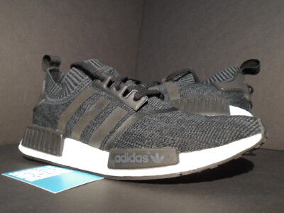 bdcbb401bdf24 ADIDAS NMD R1 PK PRIMEKNIT WINTER WOOL CORE BLACK WHITE ULTRA BOOST BB0679  11.5
