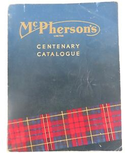 SUPER-RARE-1960-McPHERSONS-TOOL-ENGINEER-PUMP-MACHINE-CENTENARY-CATALOGUE