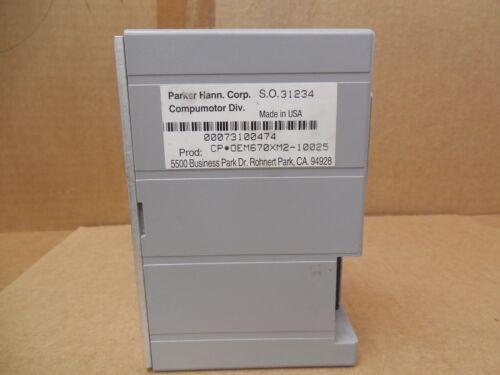 Parker Compumotor Indexter Microstepper Drive OEM670XM2-10025 OEM670XM210025