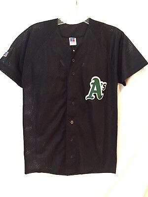 Mutig Oakland Athletics Jersey-mlb Throwback youth/mittelgroß Russell Athletic