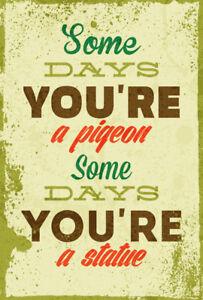 rétro plaque métal Inspirational Word Art Motivational Quote VINTAGE SIGNE