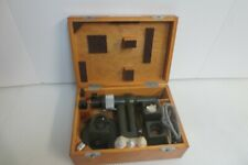 Carl Zeiss Jena Vintage Microscope In Original Box