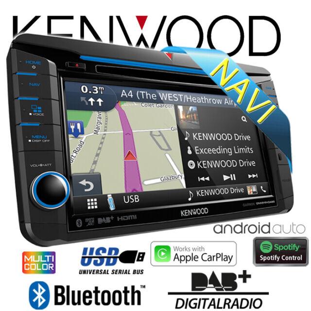 Kenwood Autoradio Pour VW Skoda Seat 2DIN GPS Multimédia DAB Véhicule Personnel