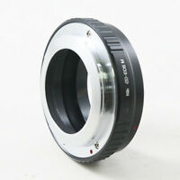 Nikon S Microscope lens to Canon EOS M EF-M mount Mirrorless camera adapter ring