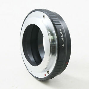 Nikon-S-Microscope-lens-to-Canon-EOS-M-EF-M-mount-Mirrorless-camera-adapter-ring