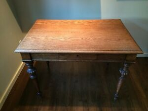 English Writing Table 200 Years Old