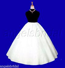PLUS SIZE SUPER FULL A-LINE BRIDAL WEDDING DRESS PETTICOAT CRINOLINE SKIRT SLIP