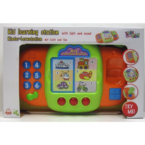 Lernstation mit Ton und Licht Kinder Spiel Lern Station Lern und Spiel Center