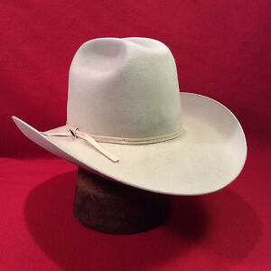 3b06c42d83b48 Silverbelly Resistol Western 4X Beaver Men s Hat with SIlverbelly ...