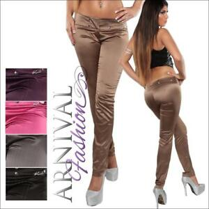 WOMENS-PINSTRIPE-LONG-PANTS-TROUSERS-LADIES-XS-S-M-CELEB-STRAIGHT-LEG-TREGGINGS