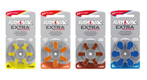 Rayovac Hörgerätebatterien Hörgerät Typ: p312,312,DA312 ZL3 S312 ZL312 PR41