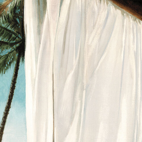 """47/""""x35/"""" SEA BREEZE II by JACOB REED RELAXING TROPIC SEASCAPE BEACH HAVEN CANVAS"""