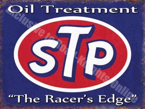 Racer/'s Edge Medium Blechschild Vintage Garage Stp Motoröl 62 Auto Benzin