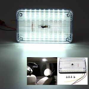 DC-12V-Bright-White-Car-Van-36-LED-Roof-Ceiling-Dome-Interior-Light-Cabin