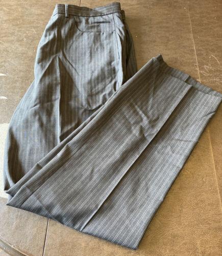 Men's Calvin Klein Pinstrip Suit Pants Size 36x32