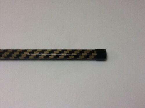 Lacrosse Defense Shaft Stick made with Kevlar Carbon Fiber Composite Unique