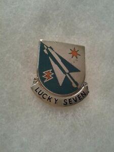Authentic-US-Army-7th-Aviation-Battalion-DI-DUI-Unit-Crest-Insignia-22M