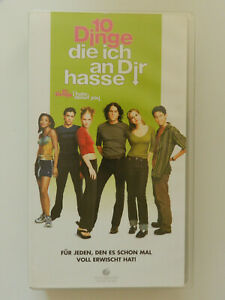 VHS-Video-Kassette-10-Dinge-die-ich-an-Dir-hasse-Julia-Stiles-Heath-Ledger
