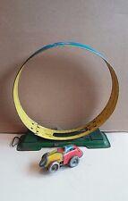 Arnold?Loop the Loop Tin track toy with clockwork motor race car. England,Japan?