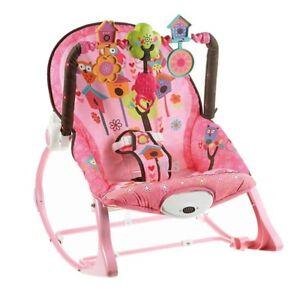 Babywippe-Schaukel-Spielbuegel-Greiflinge-Baby-Wippe-vibration-Musik-Spielzeug