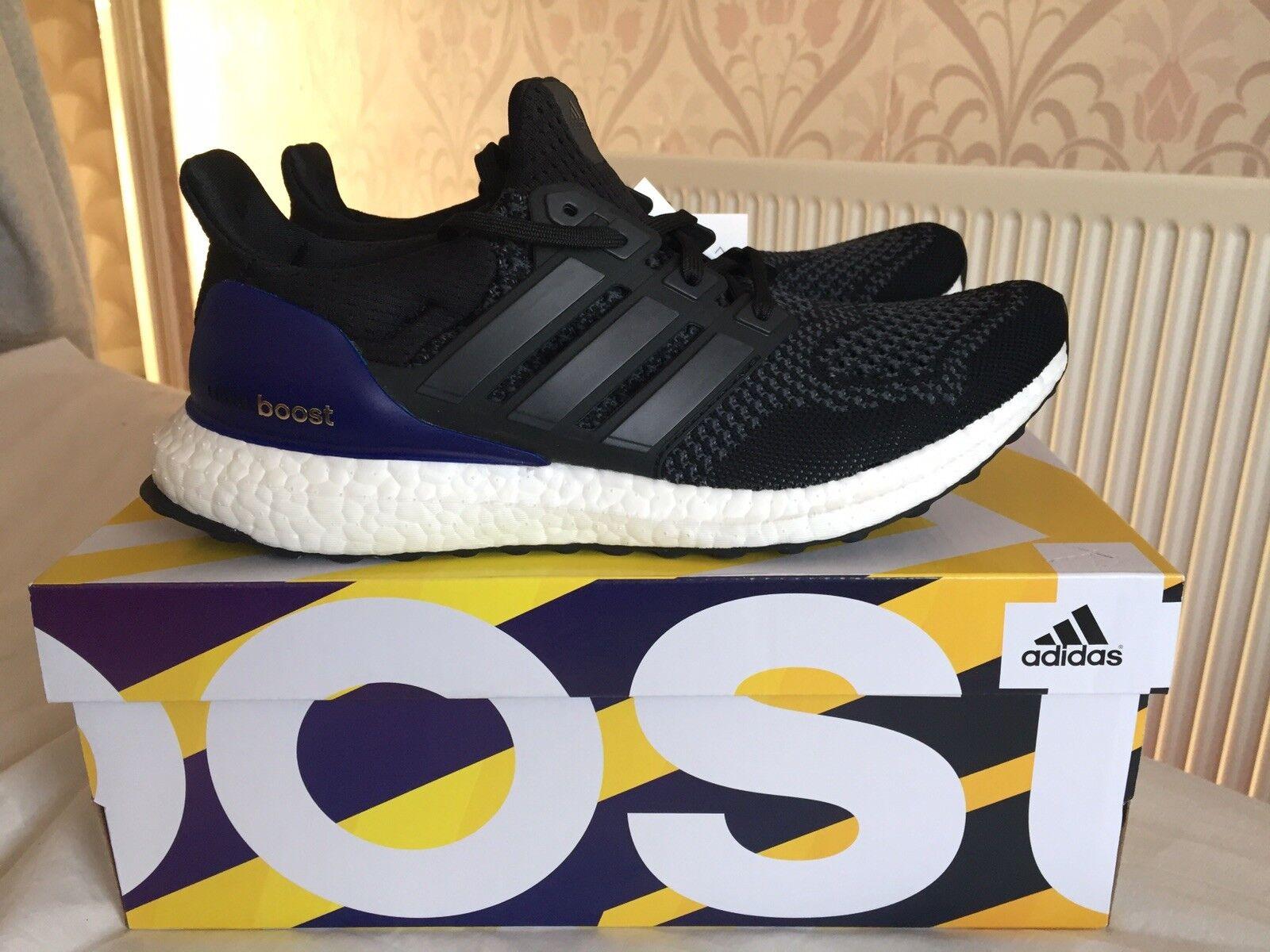 BNIB Adidas Ultra Boost 1.0 LTD OG negro púrpura US 7.5  3 Ultraboost
