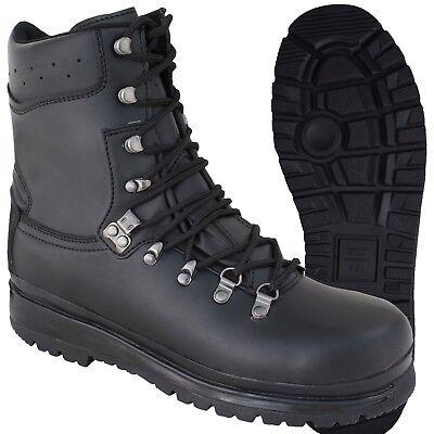 Highlander Elite Forces Boots Tactical Leather Mens Waterproof Footwear Black Rohstoffe Sind Ohne EinschräNkung VerfüGbar