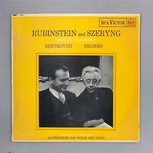 Rubinstein-amp-Szeryng-Violin-Sonatas-Beethoven-Brahms-12-034-Vinyl-SB-6513