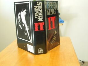 STEPHEN-KING-034-IT-034-A-NICE-CLEAN-BOOK-AND-DUST-COVER