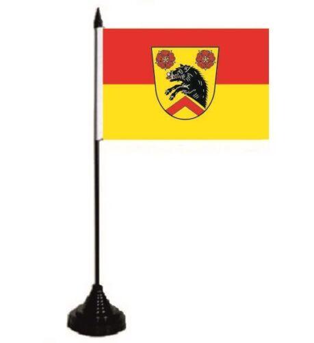 Tischfahne Fahne Flagge 10 x 15 cm Tischflagge Ebersdorf bei Coburg