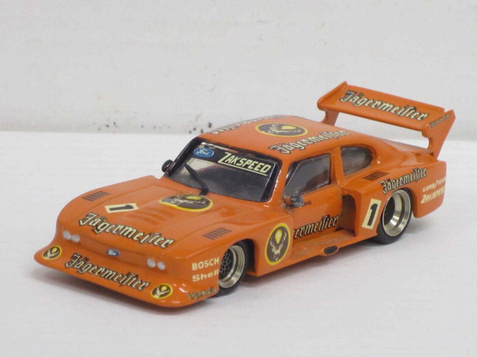 "Ford Capri Turbo, Nr.1 ""Jägermeister"", o.OVP, Mini Racing, 1 43, Handarbeitsmod."