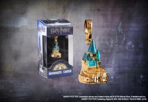 Ciondolo Castello di Hogwarts Placcato Oro Harry Potter Noble Collection