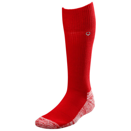 Scarlet Evoshield Knee-High Moisture Wicking Baseball//Softball Game Socks L