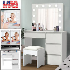 Ikea Malm Dressing Table White With Glass Top 120 X 41 78 Cm For Sale Online Ebay
