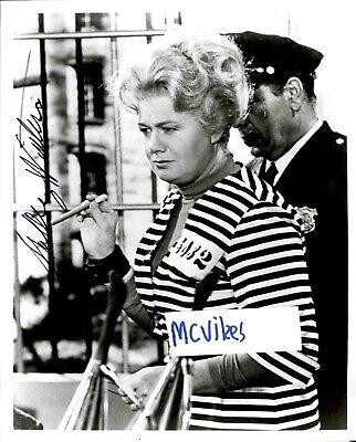 Shelley Winters actress on Walt Disney film Pete/'s Drink aka Ma Parker Batman TV Show Autograph Autographed Signed  w Letter of Authenticity