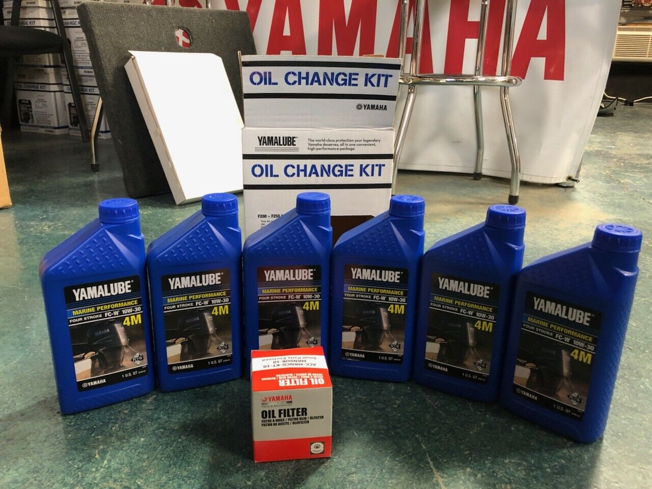 Yamaha OUTBOARD F200 - F250 Four-stroke Oil Change Kit